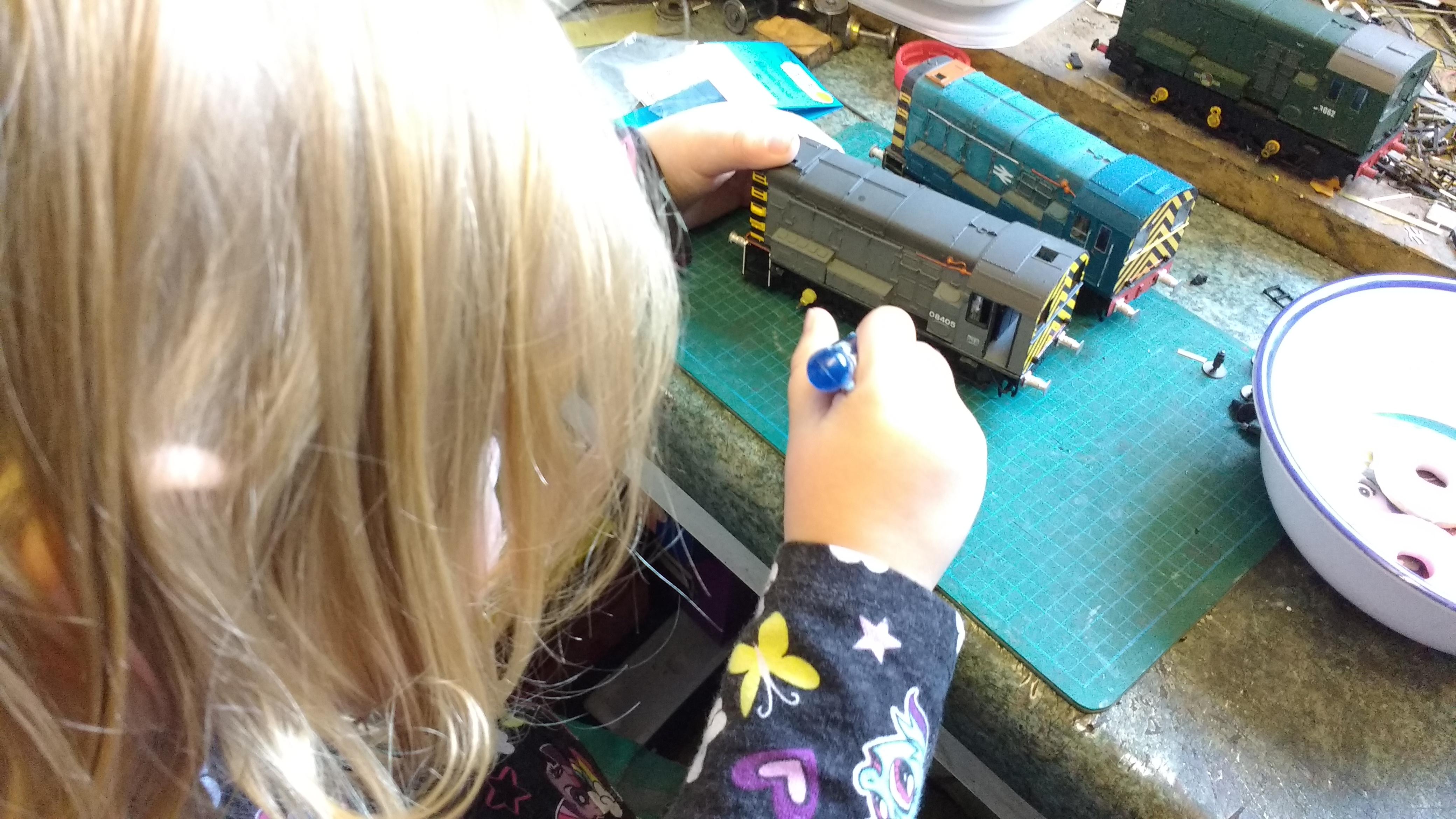 Wordless Wednesday – My Little Helper